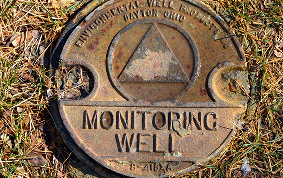 a monitoring well